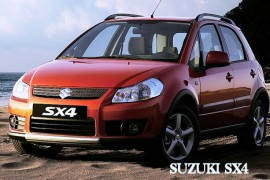 SUZUKI SX4 / 1.6 VVT 120KM
