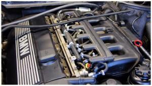 LPG - zamontowane w aucie BMW e46 - silnik M57